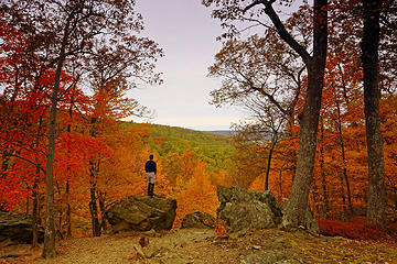 8- Blue Ridge Summit Overlook (selfie)