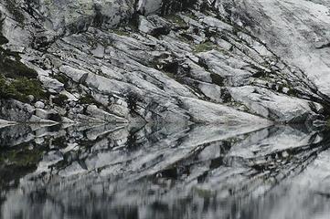 Reflection on Cyclone Lake