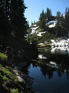 skirting cub lake