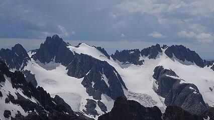 Woodrow Wilson and Pinnacle Ridge from Febbas