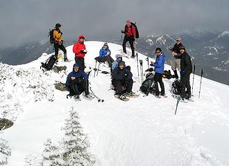 Group on the north summit