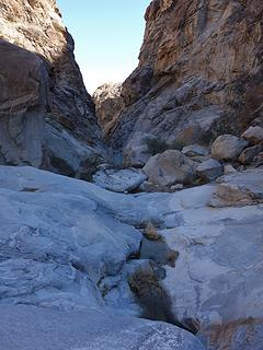 Hiko Springs Canyon narrows