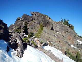 Rampart summit block