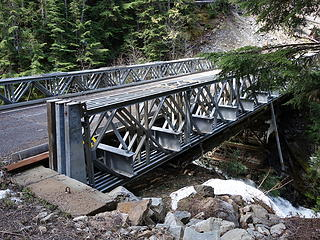 Bridge over South Fork Slate Creek