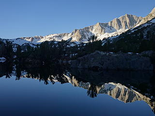 Mount Goode reflection in Long Lake