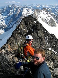 Dicey & Cartman on summit