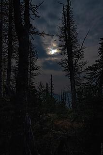 spooky full moon views