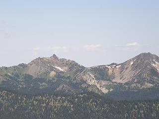 Ridge with Slide mountain from Crystal peak summit.
