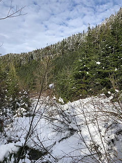 Trail to Mt. Stickney 11/25/18