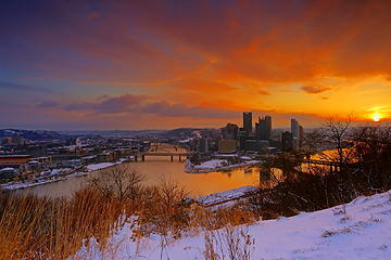Dawn over Pittsburgh