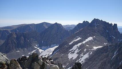 Bonney Pass below from Wilson