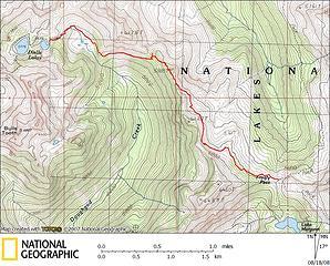 Frosty-Doelle Trail GPS Track