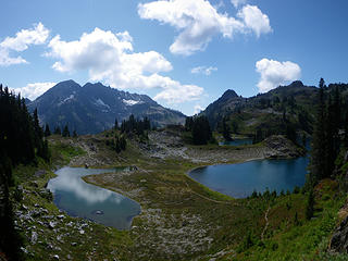 Mt. Duckabush from Hart Lake