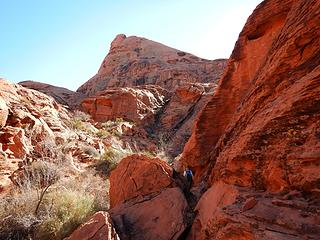 Valley of Fire Peak