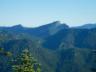 High Rock lookout visible from Purcell