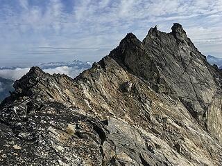 West Tenpeak's West Ridge