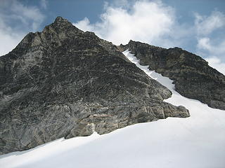 Tricouni and the snow couloir