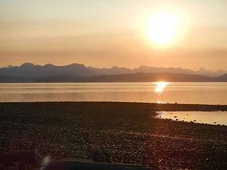 Rebecca Spit sunrise
