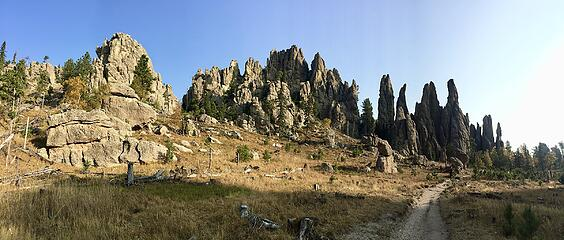Cathedral Spires Trail
