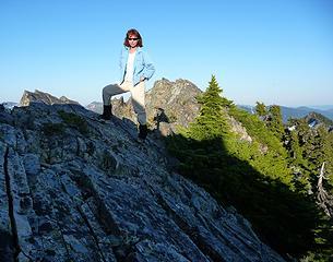 Summit pose
