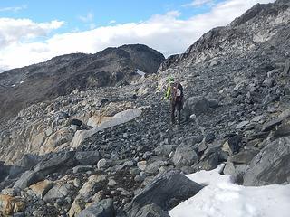 nearing Pika Peak