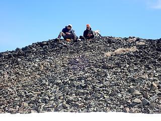 Chillin on the summit