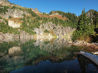 Upper Twin Lake from Outlet Area