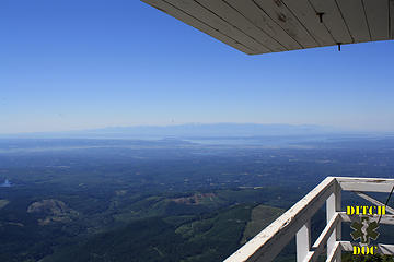 Olympics from Pilchuck Lookout