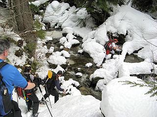 Crossing Dick Creek