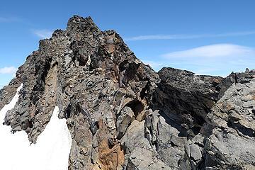 Luahna SE ridge
