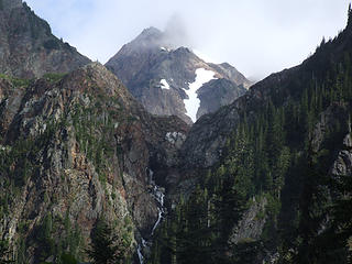 waterfall off of Anderson, from west side of Anderson Pass