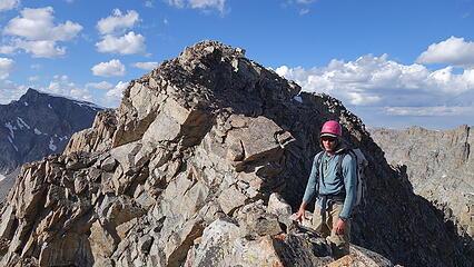 Eric on the ridge