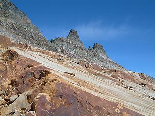 Castle Rocks as seen from the SE.