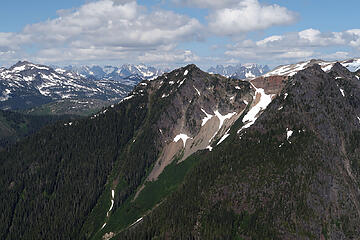 View to the NE from the east peak