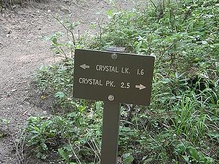 Back to Crystal Peak/Lake junction. Lake it is.