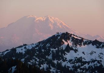 Mt. Rainier & Granite Mt. Lookout