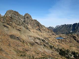 Ingalls Peak and Lake