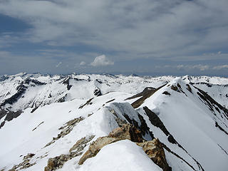 Vast snowy ranges 4