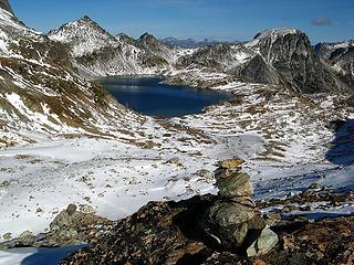 Ice Pass Cairn
