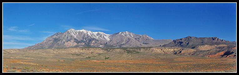 Mt. Hillers from Utah Highway 95