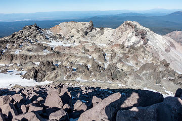 crater from summit