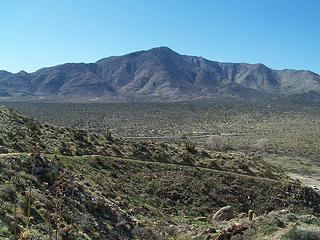 Granite Mtn. as seen from near the TH