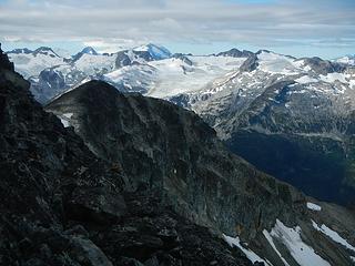 Spearhead traverse peaks