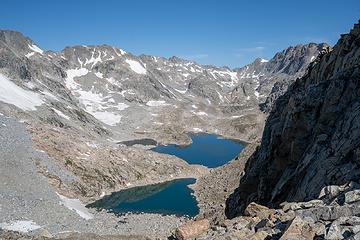 Alpine Lakes Basin -- aka hell