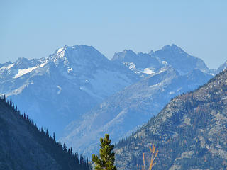 Looking WNW from Copper Pass.