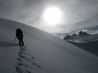 Heading toward Icy