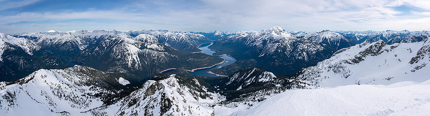 Ruby Mountain Summit Panorama