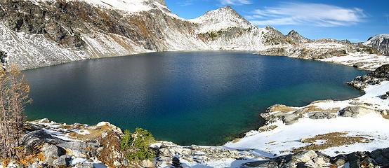 Upper Ice Lake pan