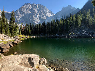 Colchuck Peak from Tarn  9/5/18