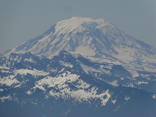 Zoom of Mt. Adams from Crystal Peak.